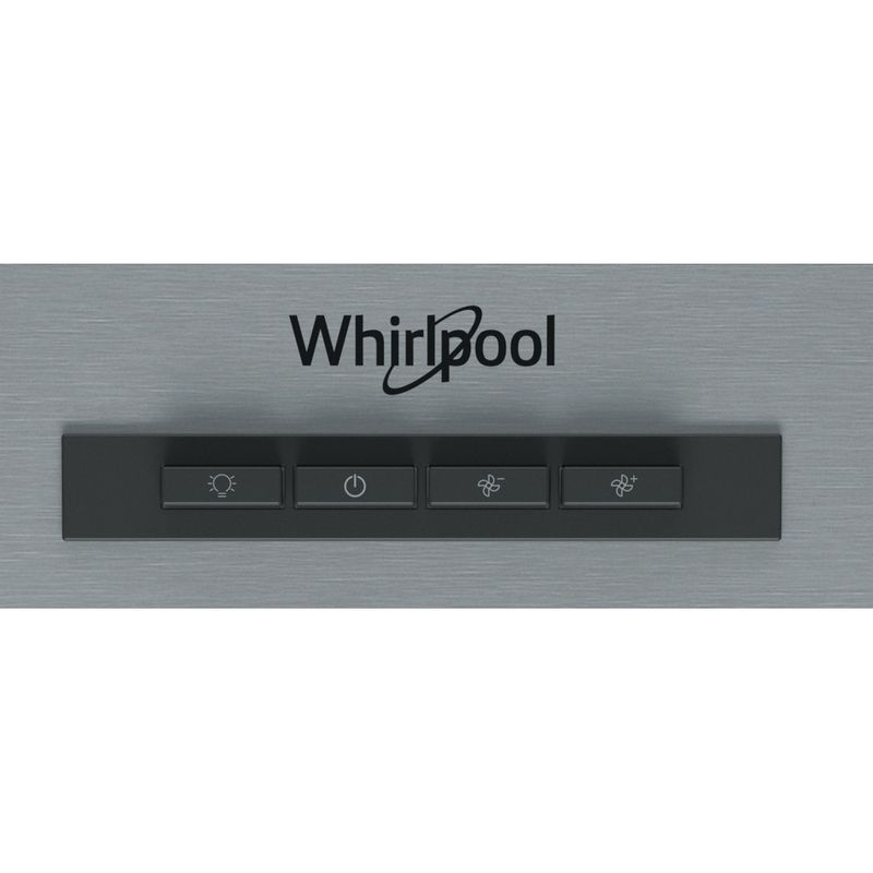 Whirlpool-Cappa-Da-incasso-WSLK-66-1-AS-X-Grigio-Montaggio-a-parete-Meccanico-Control-panel