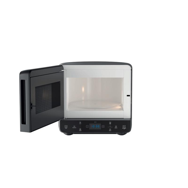 Whirlpool-Microonde-A-libera-installazione-MAX-49-MB-Nero-Elettronico-13-Microonde---grill-700-Frontal-open