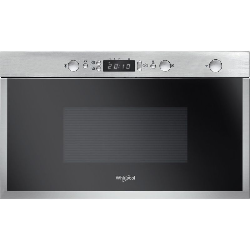 Whirlpool-Microonde-Da-incasso-AMW-4990-IX-Stainless-Steel-Elettronico-22-Solo-microonde-750-Frontal