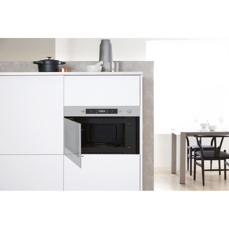 Whirlpool-Microonde-Da-incasso-AMW-4990-IX-Stainless-Steel-Elettronico-22-Solo-microonde-750-Lifestyle-frontal-open
