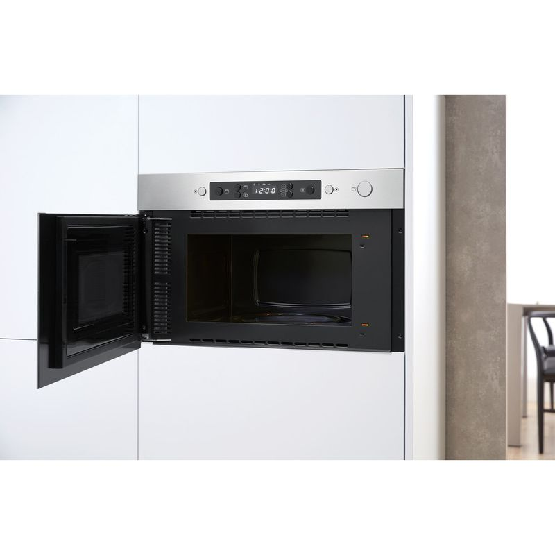 Whirlpool-Microonde-Da-incasso-AMW-4990-IX-Stainless-Steel-Elettronico-22-Solo-microonde-750-Lifestyle-perspective-open