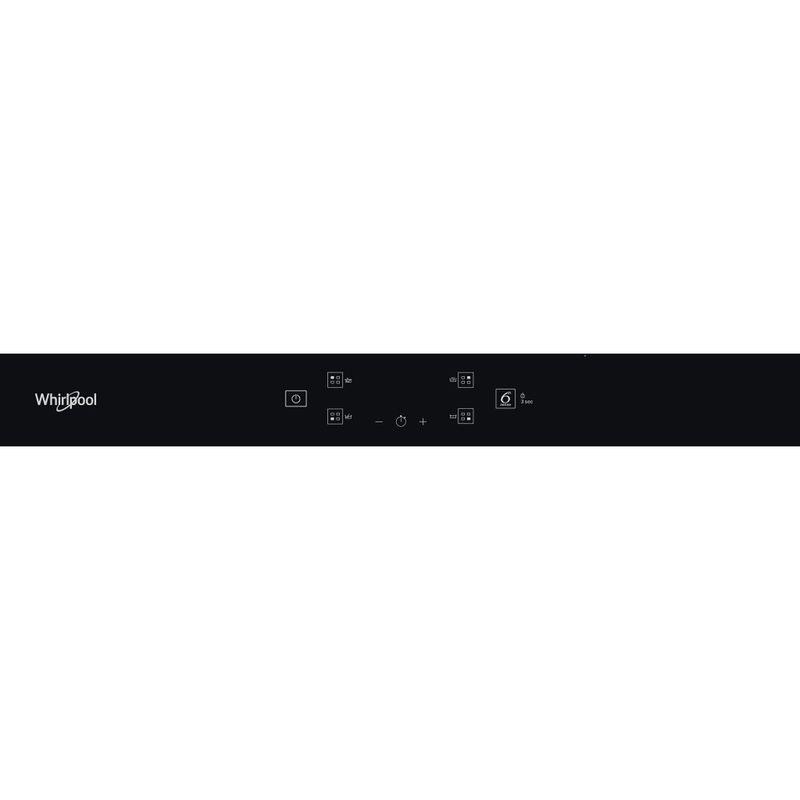 Whirlpool-Piano-cottura-WS-Q2160-NE-Nero-Induction-vitroceramic-Control-panel