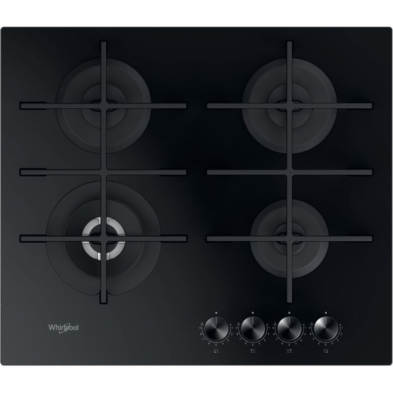 Whirlpool-Piano-cottura-GOWL-628-NB-Nero-GAS-Frontal