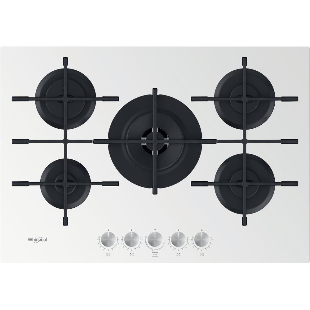 Whirlpool Piano cottura a gas GOWL 758/WH : guarda le specifiche e scopri le funzioni innovative degli elettrodomestici per casa e famiglia.