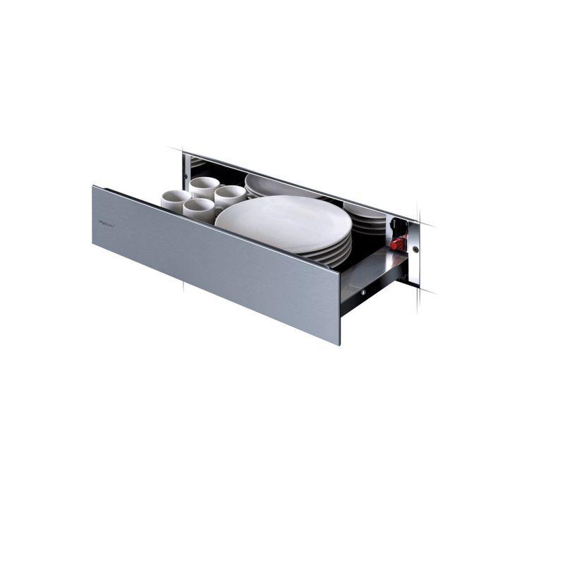 Whirlpool-Scaldavivande-WD-142-IXL-Inox-Perspective-open