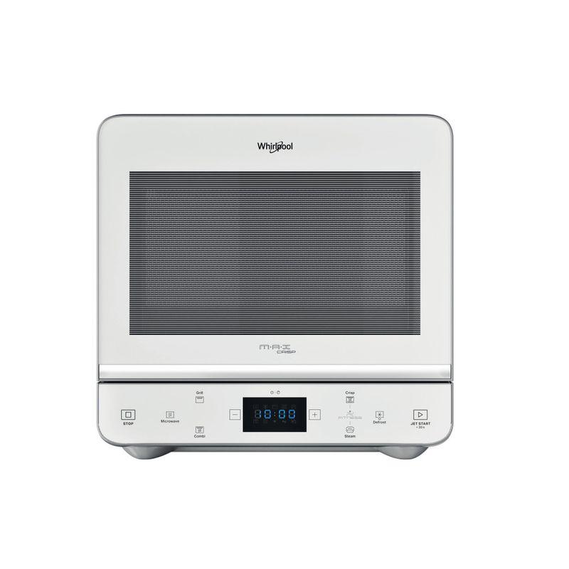 Whirlpool-Microonde-A-libera-installazione-MAX-49-WSL-Silver-totale-Elettronico-13-Microonde---grill-700-Frontal