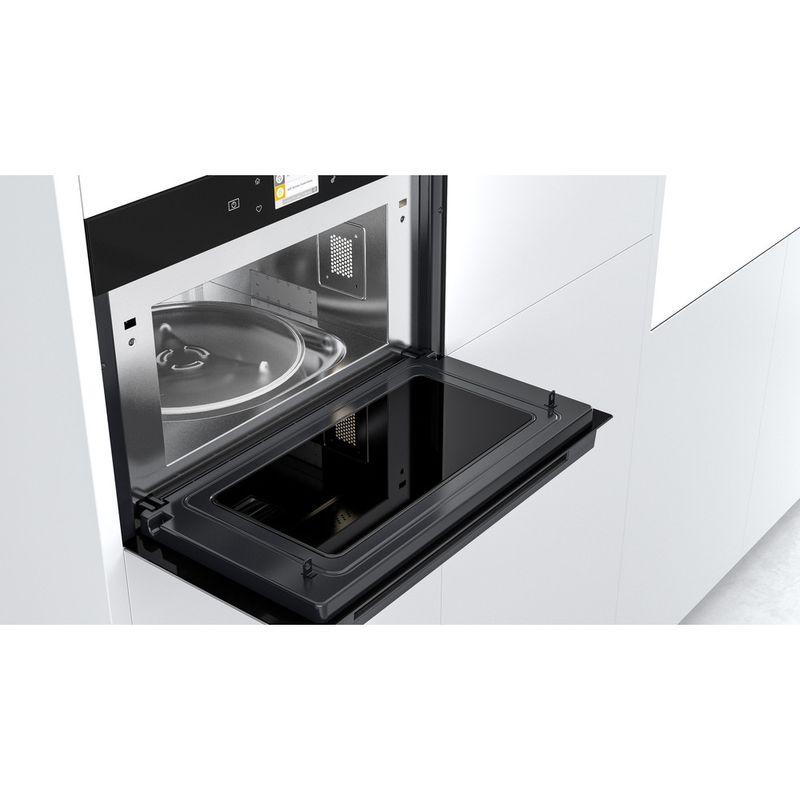 Whirlpool-Microonde-Da-incasso-W9-MD260-BSS-Black-Steel-Elettronico-31-Microonde-combinato-1000-Lifestyle-perspective-open