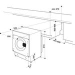 Whirlpool-Lavabiancheria-Da-incasso-BI-WMWG-91484E-EU-Bianco-Carica-frontale-C-Technical-drawing