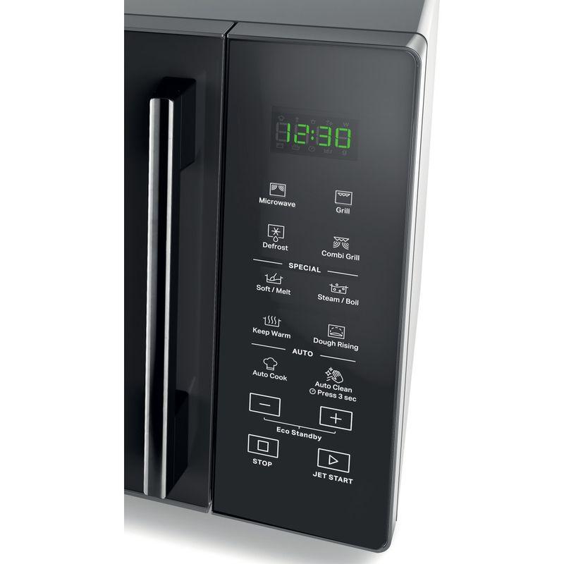 Whirlpool-Microonde-A-libera-installazione-MWP-254-SM-Specchio-Elettronico-25-Microonde---grill-900-Control-panel