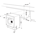 Whirlpool-Lavabiancheria-Da-incasso-BI-WMWG-81484E-EU-Bianco-Carica-frontale-C-Technical-drawing