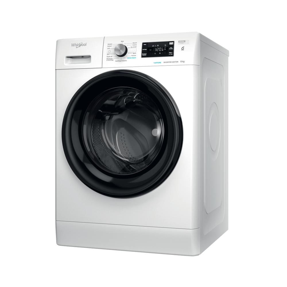 Whirlpool Lavatrice a libera installazione FFB R8428 BV IT : guarda le specifiche e scopri le funzioni innovative degli elettrodomestici per casa e famiglia.