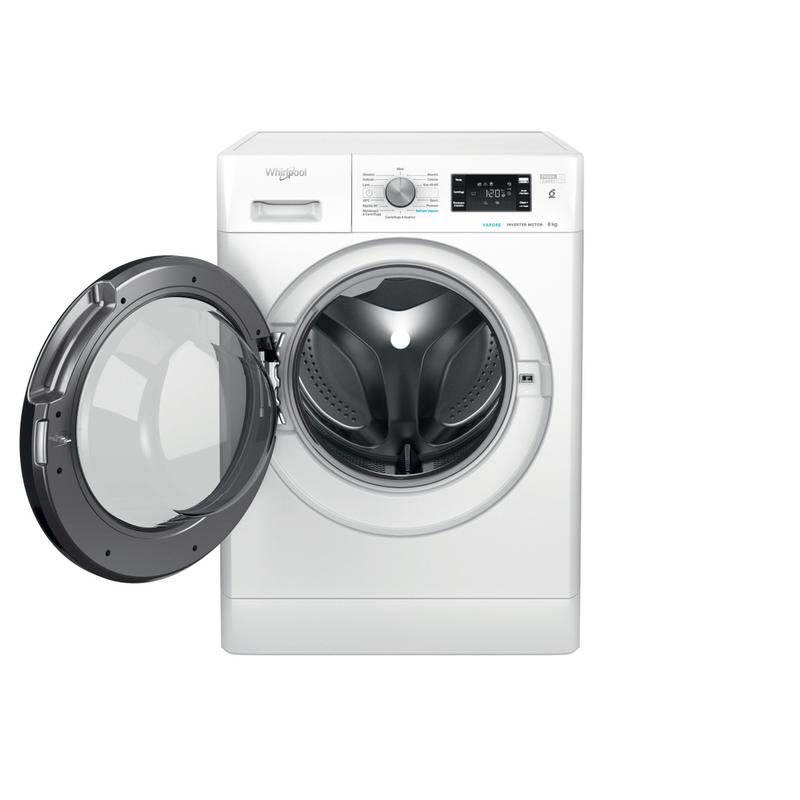 Whirlpool-Lavabiancheria-A-libera-installazione-FFB-R8428-BV-IT-Bianco-Carica-frontale-C-Frontal-open