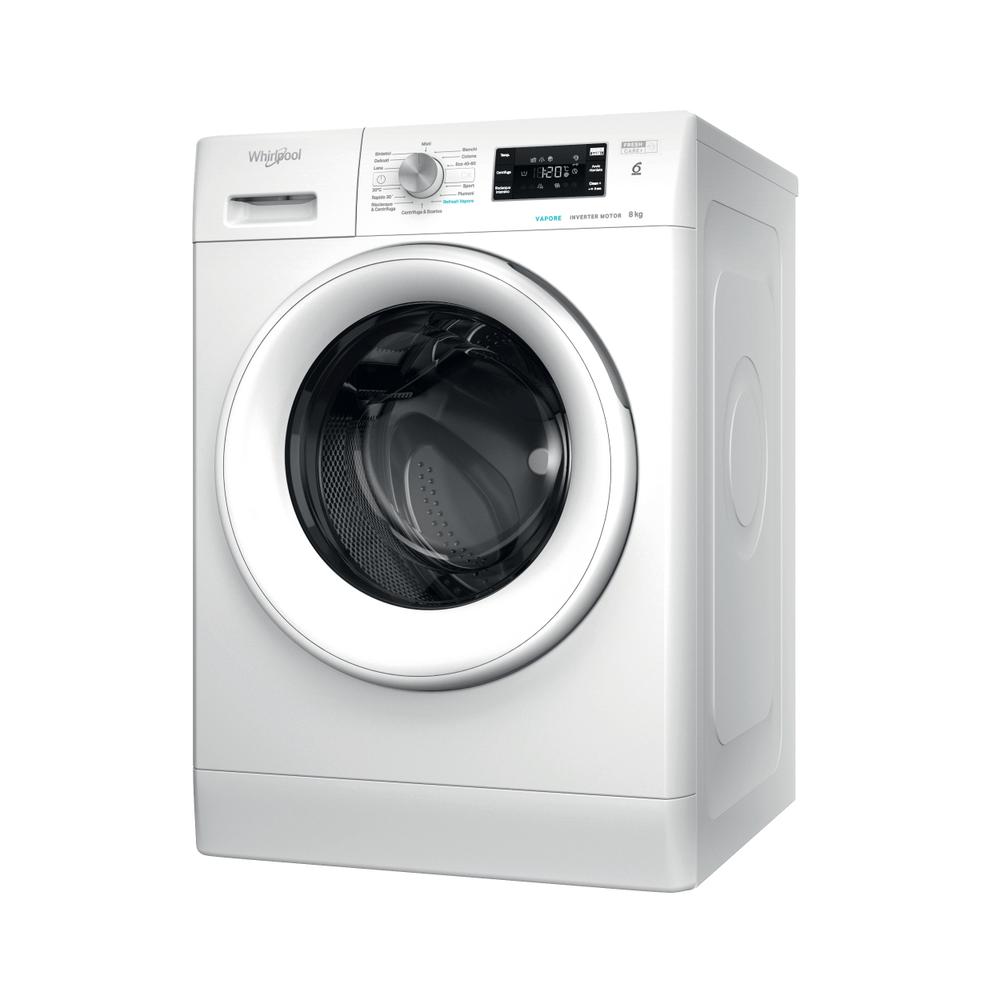 Whirlpool Lavatrice a libera installazione FFB D8 V IT : guarda le specifiche e scopri le funzioni innovative degli elettrodomestici per casa e famiglia.