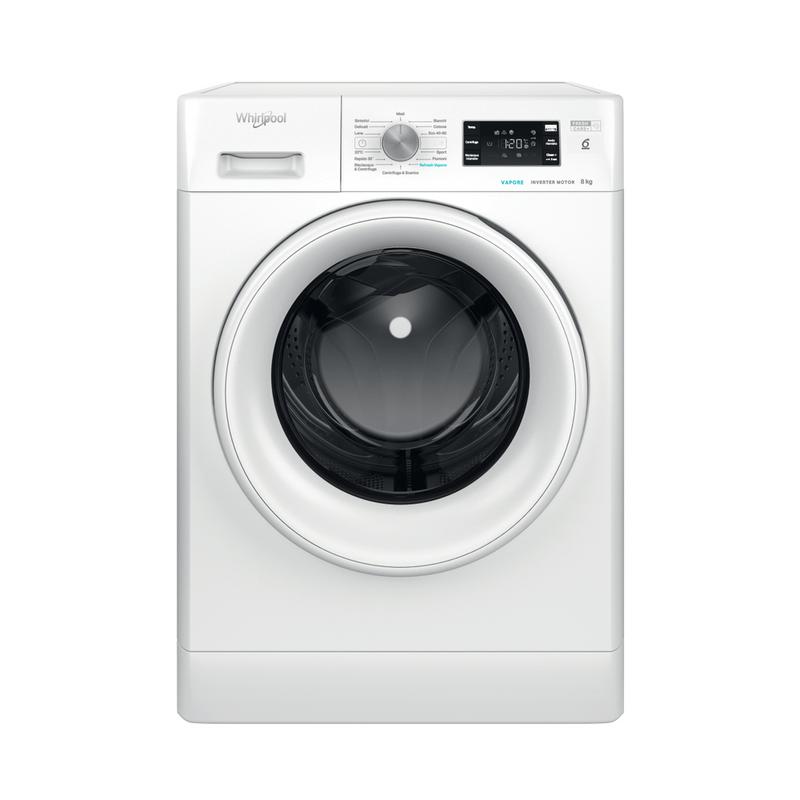 Whirlpool-Lavabiancheria-A-libera-installazione-FFB-D8-V-IT-Bianco-Carica-frontale-C-Frontal