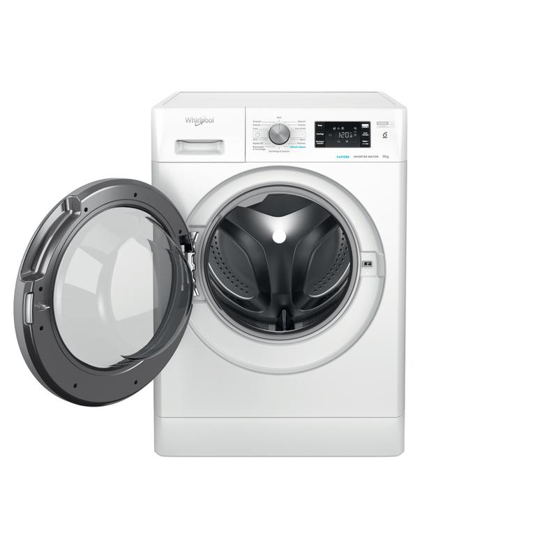 Whirlpool-Lavabiancheria-A-libera-installazione-FFB-R8429-BSV-IT-Bianco-Carica-frontale-C-Frontal-open