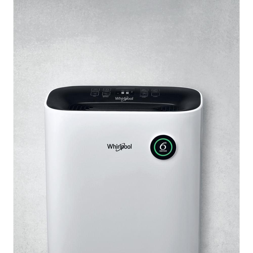 Whirlpool Dehumidifier DE20W5252: controlla le specifiche e scopri tutte le innovative funzioni dell'elettrodomestico per la tua casa e la tua famiglia.