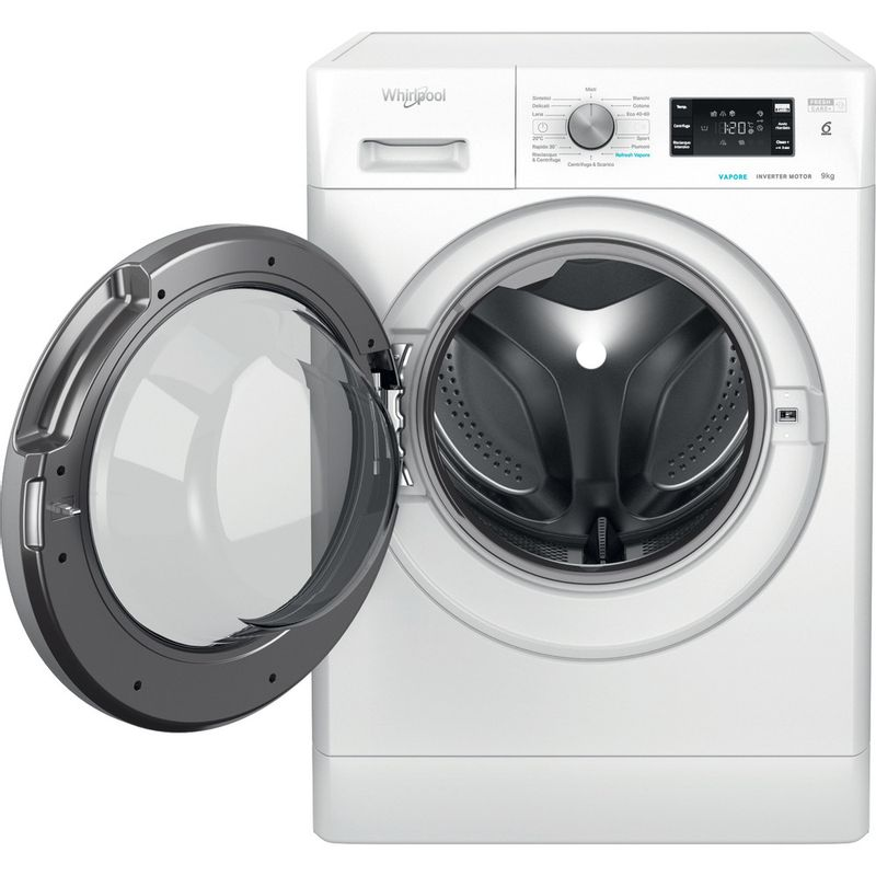 Whirlpool-Lavabiancheria-A-libera-installazione-FFB-9468-BSV-IT-Bianco-Carica-frontale-C-Frontal-open