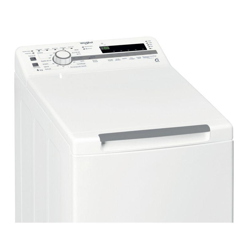 Whirlpool-Lavabiancheria-A-libera-installazione-TDLR-6230S-IT-N-Bianco-Carica-dall-altro-D-Control-panel