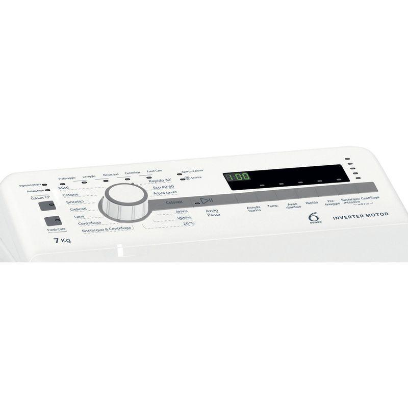 Whirlpool-Lavabiancheria-A-libera-installazione-TDLR-7221BS-IT-N-Bianco-Carica-dall-altro-E-Control-panel