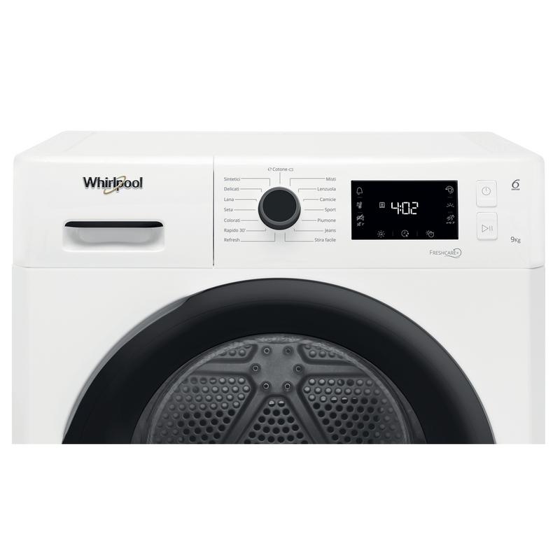 Whirlpool-Asciugabiancheria-FT-M22-9X3B-IT-Bianco-Control-panel