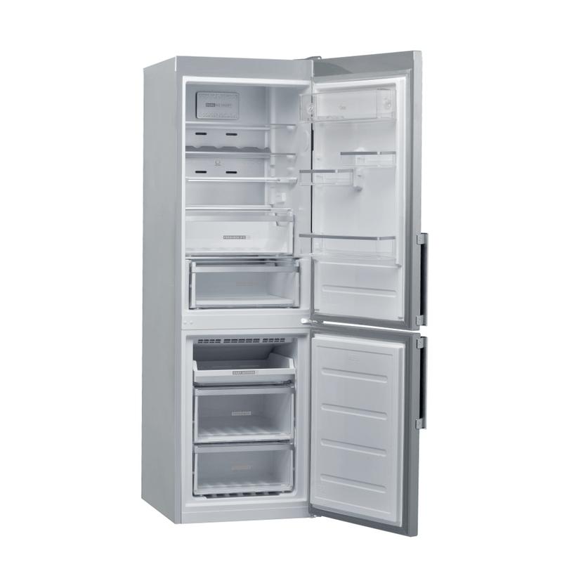 Whirlpool-Combinazione-Frigorifero-Congelatore-A-libera-installazione-W9-831D-IX-H-Inox-2-porte-Perspective-open