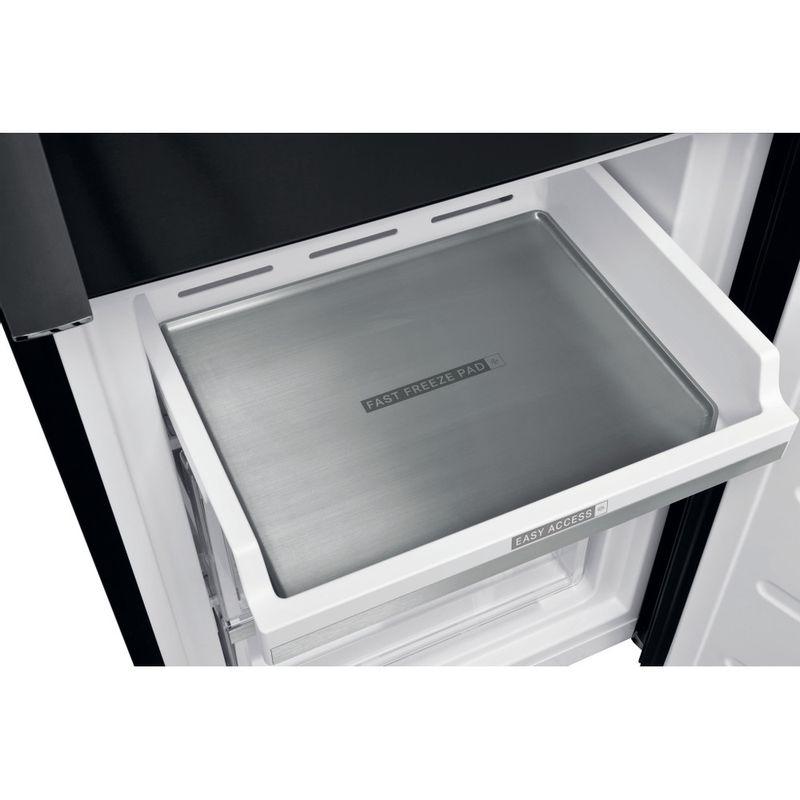 Whirlpool-Combinazione-Frigorifero-Congelatore-A-libera-installazione-W9-931D-KS-H-Nero-inox-2-porte-Drawer