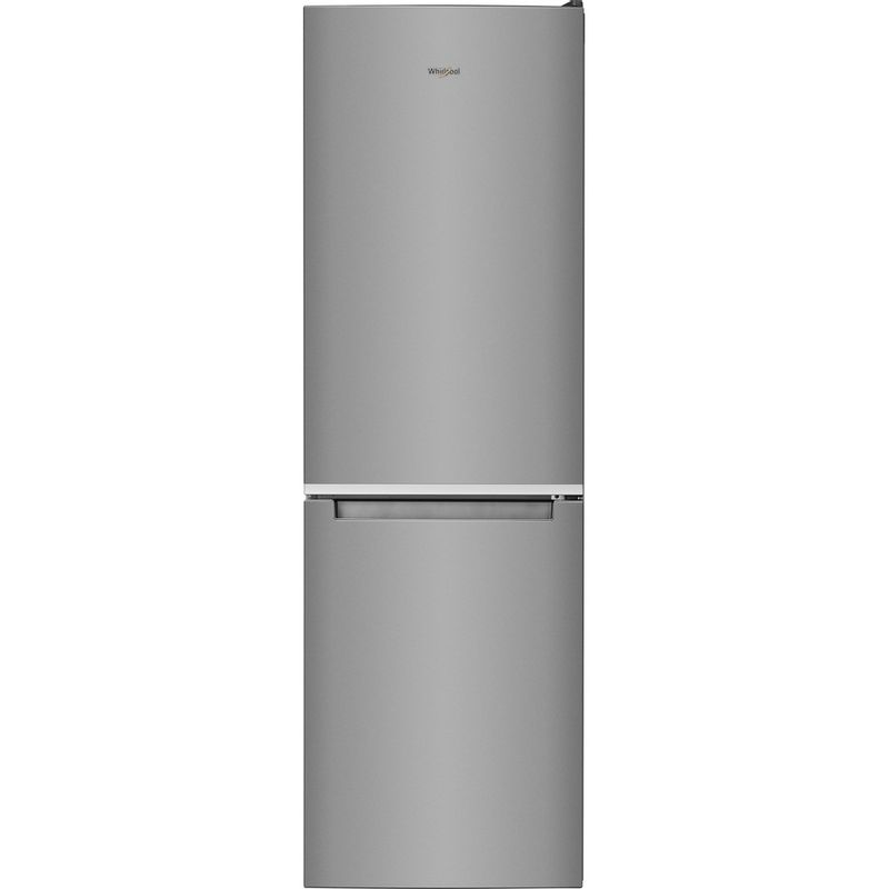 Whirlpool-Combinazione-Frigorifero-Congelatore-A-libera-installazione-W7-831A-OX-Optic-Inox-2-porte-Frontal