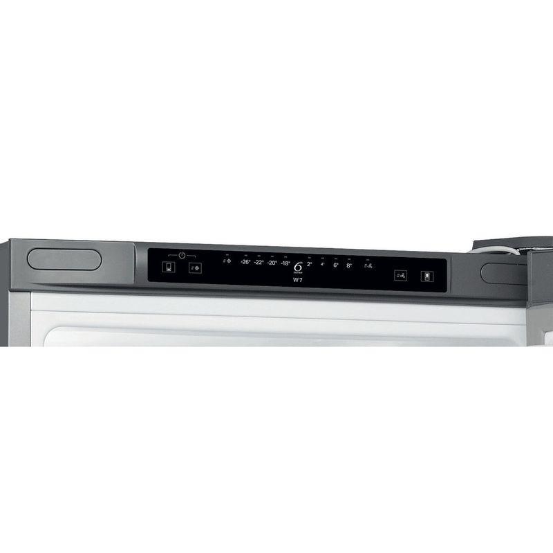Whirlpool-Combinazione-Frigorifero-Congelatore-A-libera-installazione-W7-831A-OX-Optic-Inox-2-porte-Control-panel
