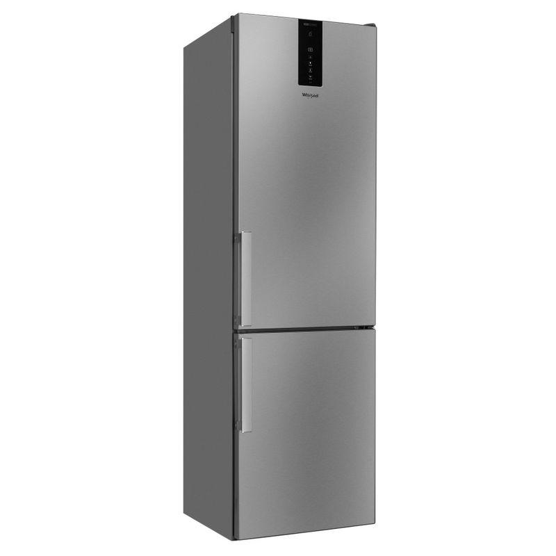 Whirlpool-Combinazione-Frigorifero-Congelatore-A-libera-installazione-W9-941D-IX-H-Inox-2-porte-Perspective