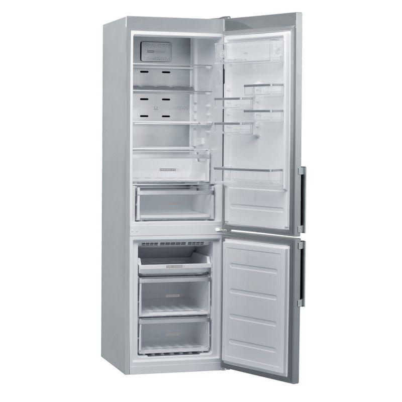 Whirlpool-Combinazione-Frigorifero-Congelatore-A-libera-installazione-W9-941D-IX-H-Inox-2-porte-Perspective-open