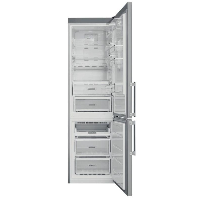 Whirlpool-Combinazione-Frigorifero-Congelatore-A-libera-installazione-W9-941D-IX-H-Inox-2-porte-Frontal-open