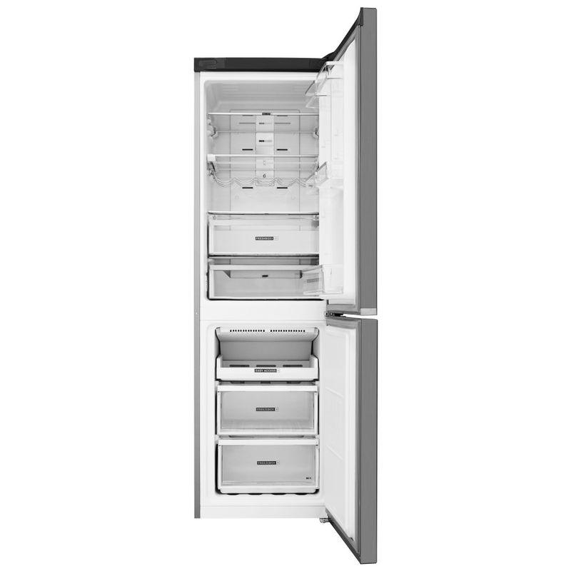 Whirlpool-Combinazione-Frigorifero-Congelatore-A-libera-installazione-W7-831T-MX-Specchio-inox-2-porte-Frontal-open