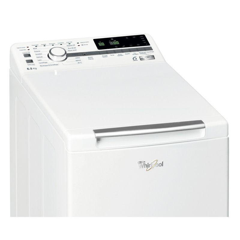 Whirlpool-Lavabiancheria-A-libera-installazione-ZEN-TDLR-65242BS-IT-N-Bianco-Carica-dall-altro-C-Control-panel