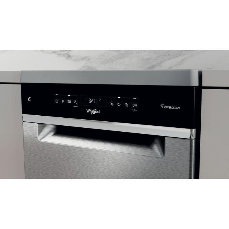 Whirlpool-Lavastoviglie-A-libera-installazione-WSFO-3T223-PC-X-A-libera-installazione-E-Control-panel