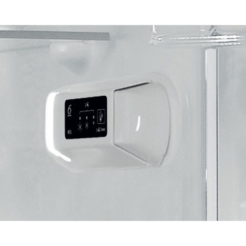 Whirlpool-Combinazione-Frigorifero-Congelatore-A-libera-installazione-W5-821E-OX-2-Optic-Inox-2-porte-Control-panel