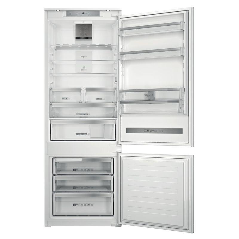 Whirlpool-Combinazione-Frigorifero-Congelatore-Da-incasso-SP40-802-2-Bianco-2-porte-Frontal-open