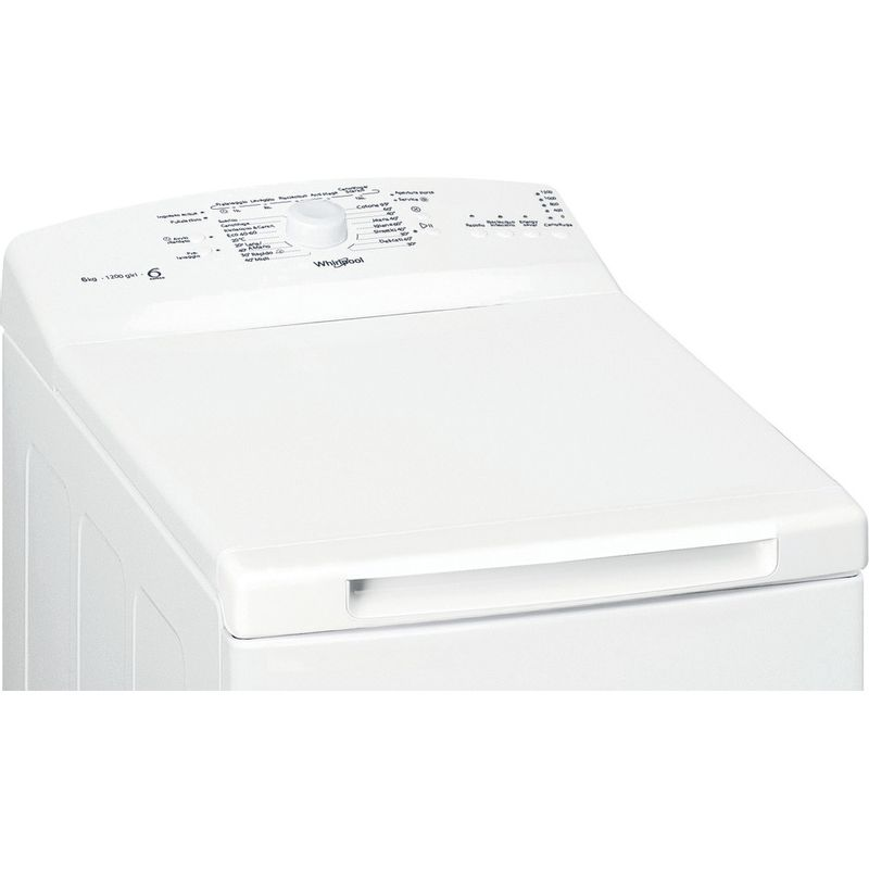 Whirlpool-Lavabiancheria-A-libera-installazione-TDLR-6230L-IT-N-Bianco-Carica-dall-altro-D-Control-panel