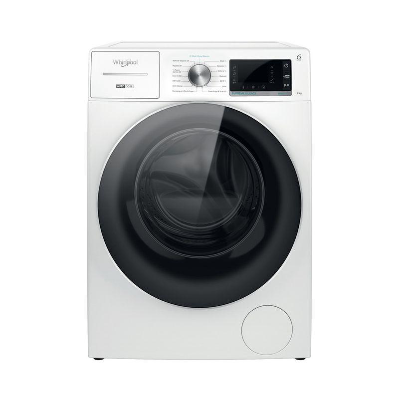 Whirlpool-Lavabiancheria-A-libera-installazione-W8-W846WR-IT-Bianco-Carica-frontale-A-Frontal