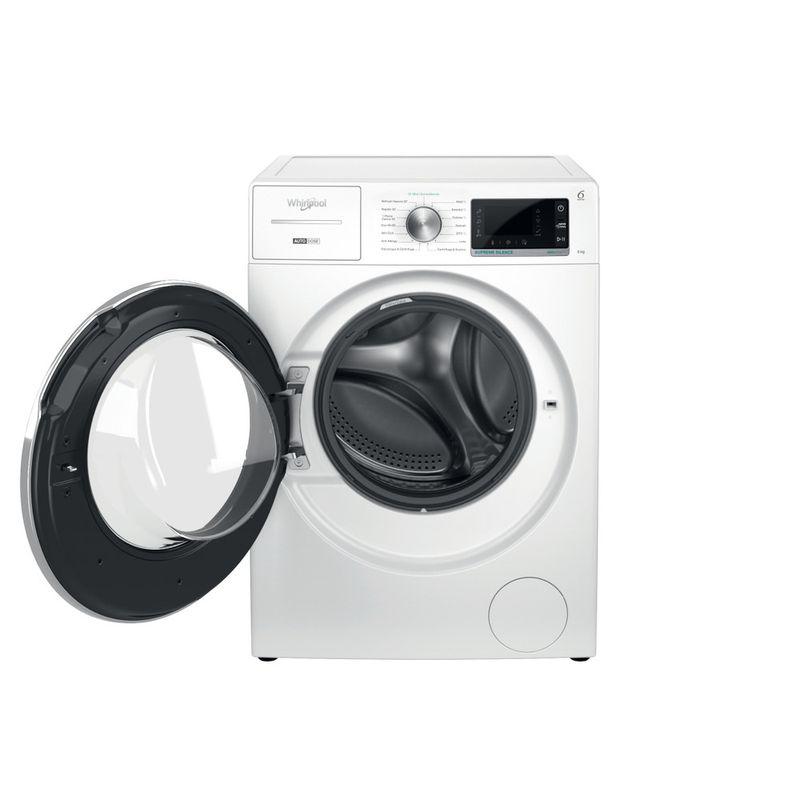 Whirlpool-Lavabiancheria-A-libera-installazione-W8-W846WR-IT-Bianco-Carica-frontale-A-Frontal-open