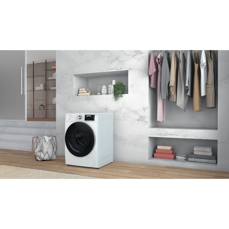 Whirlpool-Lavabiancheria-A-libera-installazione-W8-W846WR-IT-Bianco-Carica-frontale-A-Lifestyle-perspective