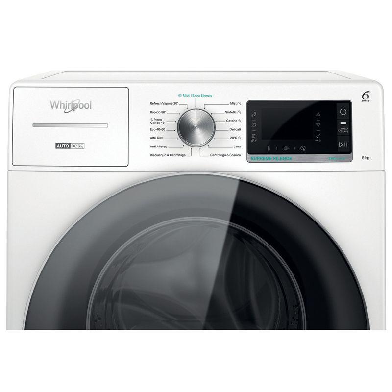 Whirlpool-Lavabiancheria-A-libera-installazione-W8-W846WR-IT-Bianco-Carica-frontale-A-Control-panel