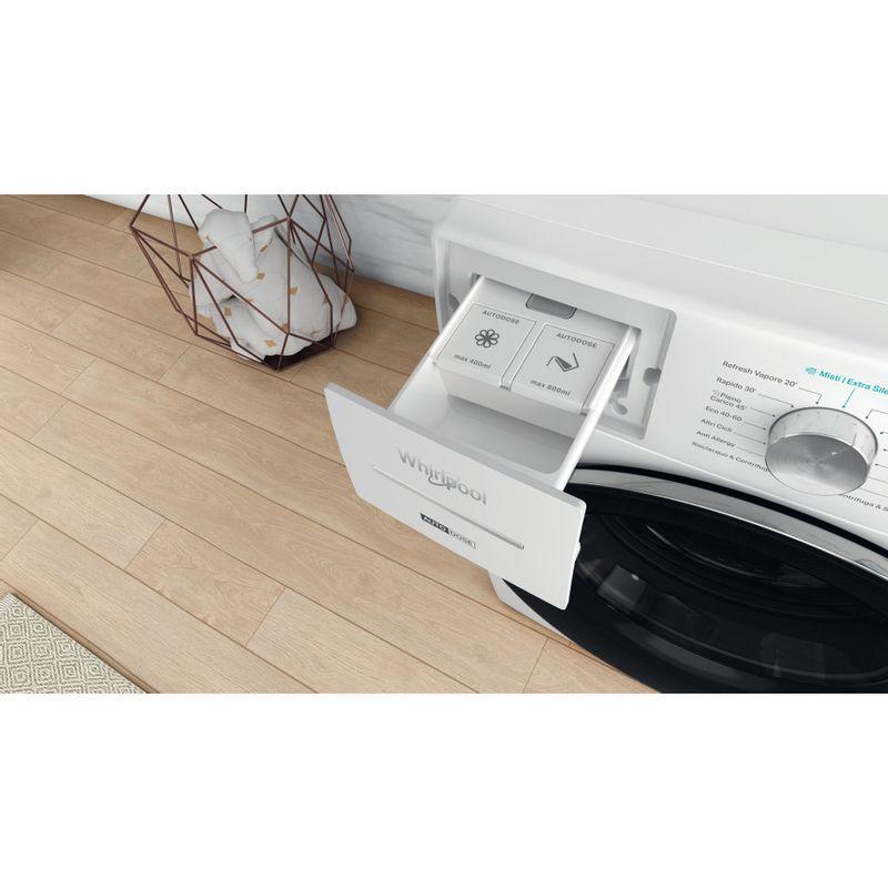Whirlpool-Lavabiancheria-A-libera-installazione-W8-W846WR-IT-Bianco-Carica-frontale-A-Drawer