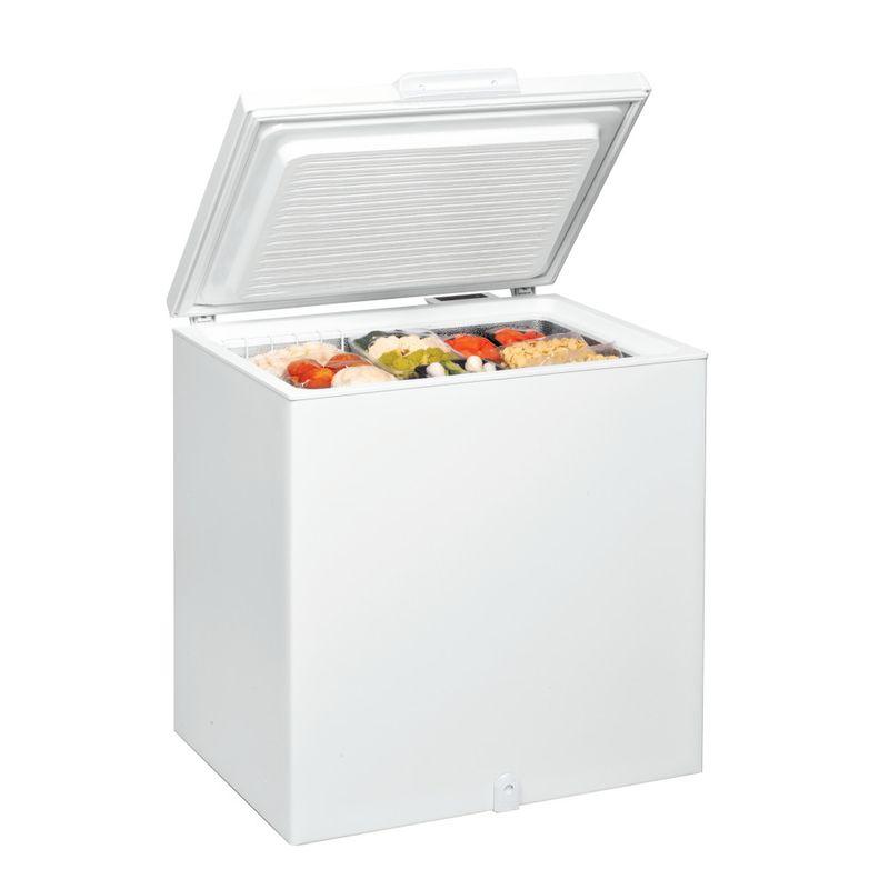 Whirlpool-Congelatore-A-libera-installazione-WHS2121-Bianco-Perspective-open