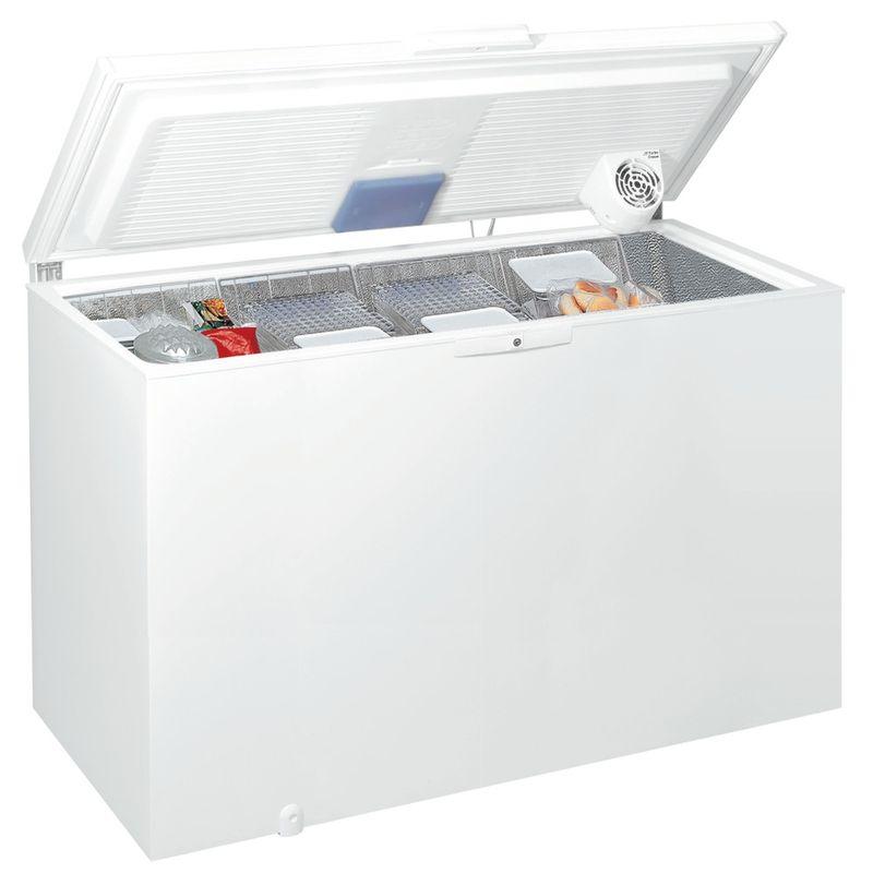 Whirlpool-Congelatore-A-libera-installazione-WHE39392-T-Bianco-Perspective-open