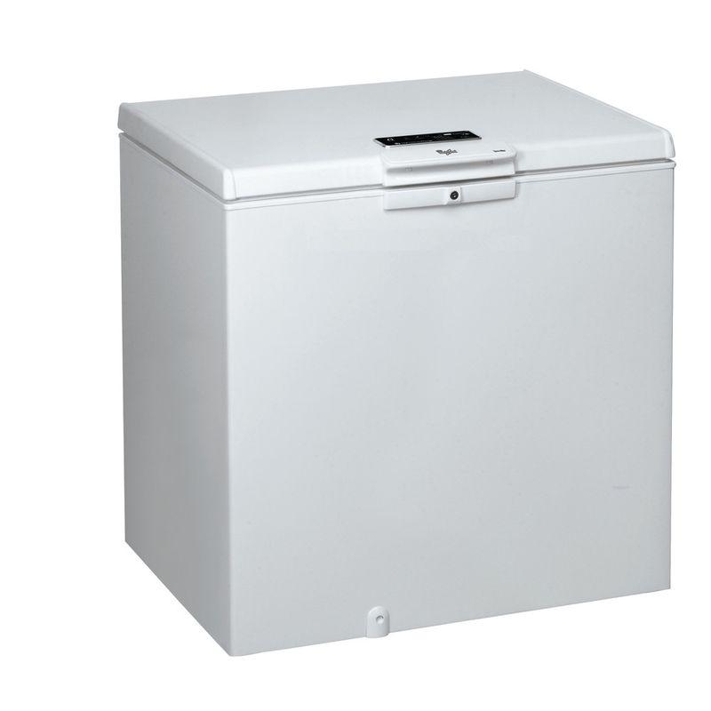Whirlpool-Congelatore-A-libera-installazione-WHE2535-FO-Bianco-Perspective