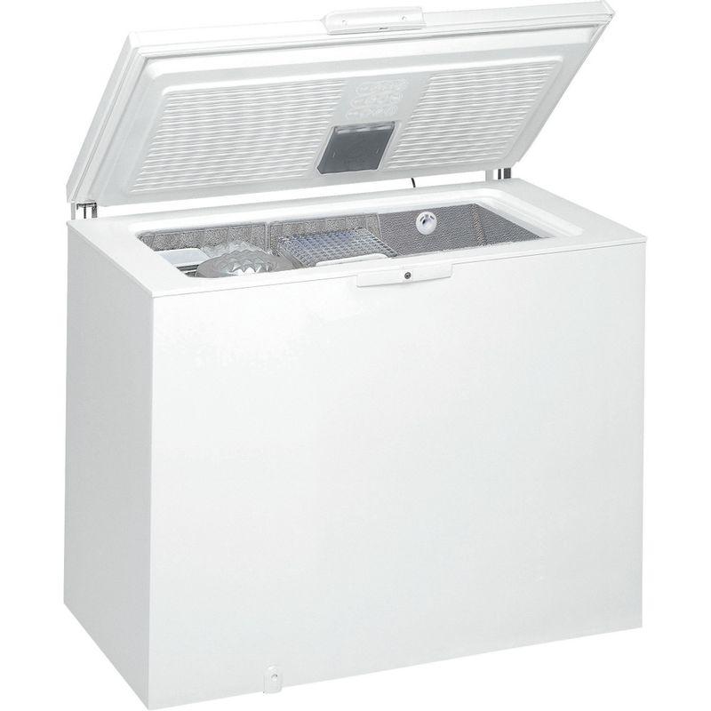 Whirlpool-Congelatore-A-libera-installazione-WHE2535-FO-Bianco-Perspective-open