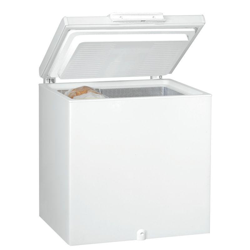 Whirlpool-Congelatore-A-libera-installazione-WH2011-A-E-Bianco-Perspective-open