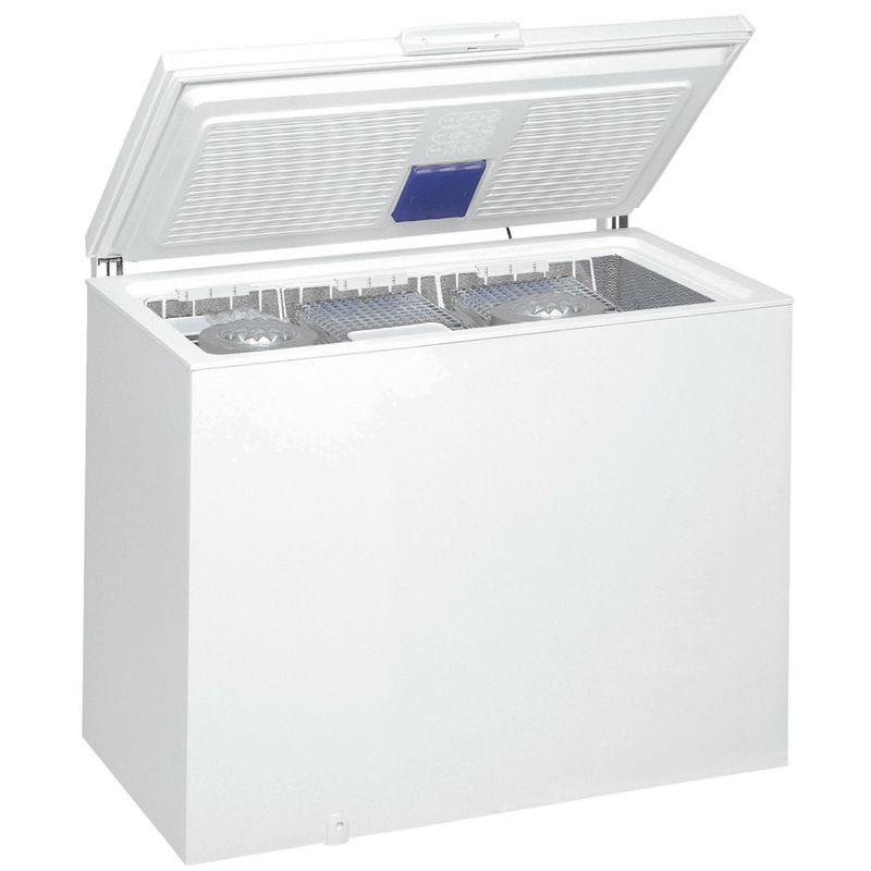 Whirlpool-Congelatore-A-libera-installazione-WHE-4600-Bianco-Perspective-open