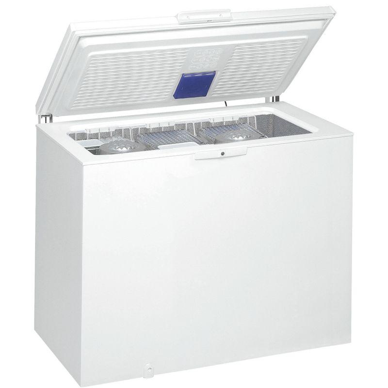 Whirlpool-Congelatore-A-libera-installazione-WHE3133FM-Bianco-Perspective-open