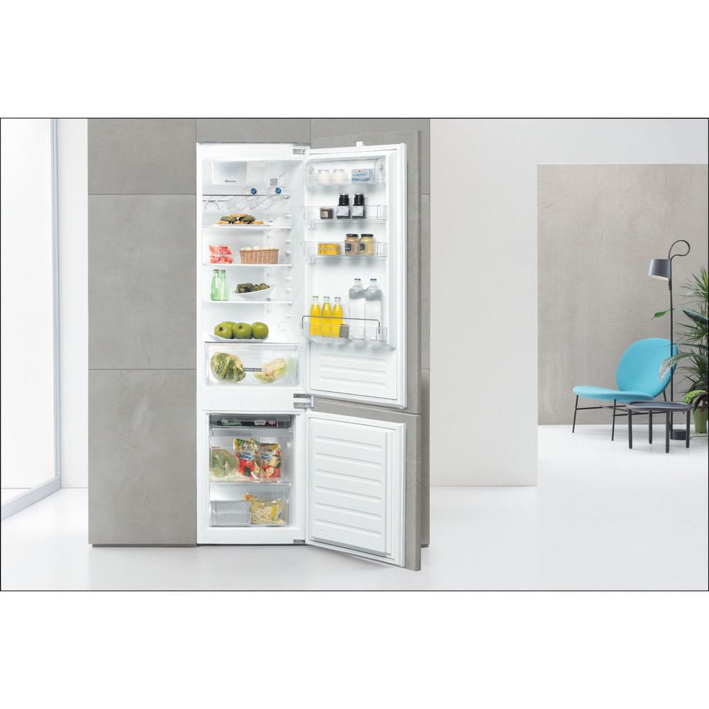 Whirlpool Frigorifero combinato da incasso ART 96101 : guarda le specifiche e scopri le funzioni innovative degli elettrodomestici per casa e famiglia.